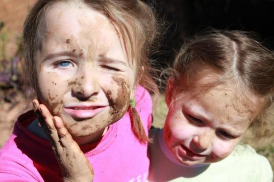 Fun getting muddy
