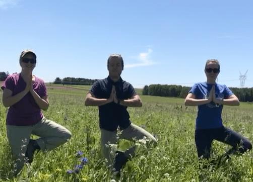 Prairie yoga